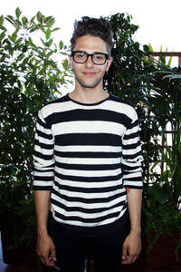 Xavier Dolan at the Atom Egoyan Cocktail Reception during the 63rd Cannes Film Festival.