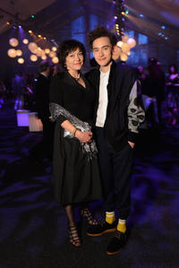 Olly Alexander and guest at the after party for