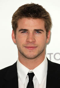 Liam Hemsworth at the 19th Annual Elton John AIDS Foundation's Oscar viewing party in California.