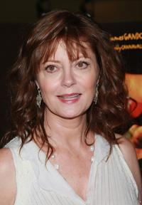 Susan Sarandon at the screening of