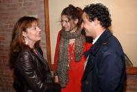 Susan Sarandon, Stella Schnabel and Zac Posen at the Nest Foundation Benefit in New York City.