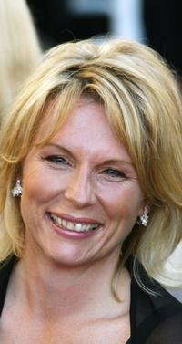 Jennifer Saunders at the premiere of