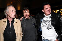 David Carradine, Larry Bishop and Michael Madsen at the after party of the premiere of