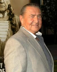 August Schellenberg at the Los Angeles premiere of