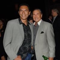 Wes Studi and August Schellenberg at the after party of the Los Angeles premiere of