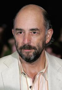 Richard Schiff at the Gala Dinner on the first day of the Northern Rock All Star Cup.
