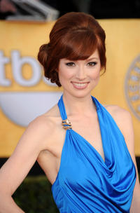 Ellie Kemper at the 17th Annual Screen Actors Guild Awards in Los Angeles.