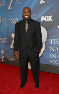 James Black at the 40th NAACP Image Awards.