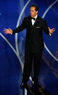 Jerry Seinfeld presents the Best Documentary, Features during the 79th Annual Academy Awards in Hollywood.