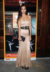 Rebecca Dayan at the American Ballet Theatre Opening Night Fall New York City Center Gala in United States.