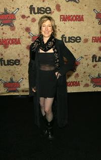 Lin Shaye at the fuse Fangoria Chainsaw Awards.