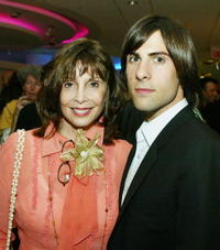 Talia Shire and her son Jason Schwartzman at the after-party for the premiere of