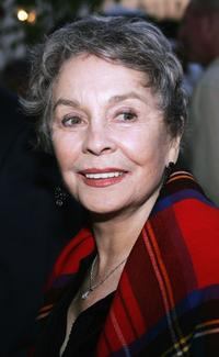 Jean Simmons at the premiere of the play
