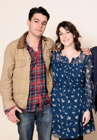 Christopher Abbott and Melanie Lynskey at the portrait session of