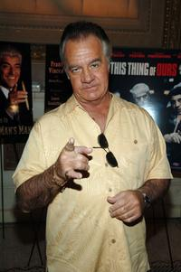 Tony Sirico at the celebration for Frank Vincent's new book