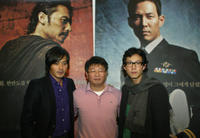Jang Don-Kun, Director Kwak Kyung-Tack and Lee Jung-Jae at the press conference of