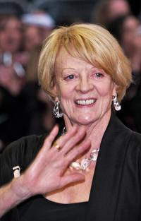 Maggie Smith at the London's Leicester Square for the European Premiere of her latest film