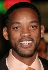 """Will Smith at the """"ATL"""" film premiere in Hollywood."""