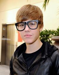Justin Bieber at the premiere of