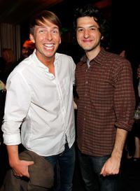 Jack McBrayer and Ben Schwartz at the