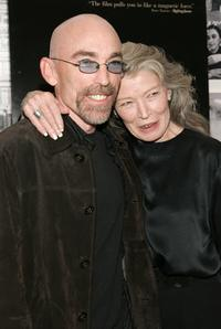 Jackie Earle Haley and Phyllis Somerville at the New York screening of