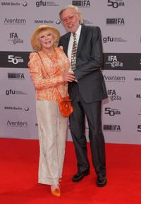 Elke Sommer and Guest at the IFA Opening Ceremony.