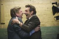 Timothy Spall as Peter Taylor and Michael Sheen as Brian Clough in