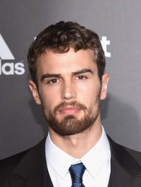 Theo James at the New York premiere of