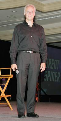 Brent Spiner at the Star Trek convention.