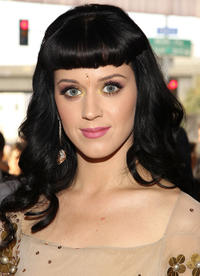 Katy Perry at the 52nd Annual GRAMMY Awards.