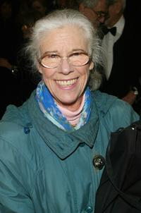 Frances Sternhagen at the Broadway opening of