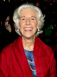 Frances Sternhagen at the opening night after party for the new play