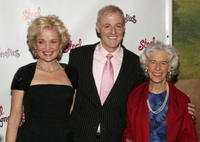 Christine Ebersole, Robert Harling and Frances Sternhagen at the after party of the opening night of