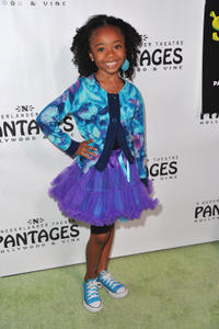 Skai Jackson at the Los Angeles Opening Night of