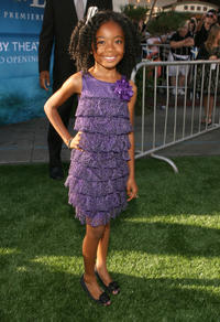 Skai Jackson at the premiere of