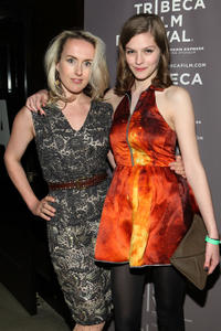 Cynthia Fortune Ryan and Amber Anderson at the premiere of