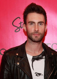 Adam Levine at the after party of 2010 Victoria's Secret Fashion Show in New York.