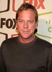 Kiefer Sutherland at the FOX Fall Eco-Casino Party.