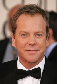 Kiefer Sutherland at the 64th Annual Golden Globe Awards.