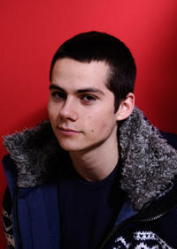 Dylan O'Brien at the portrait session of