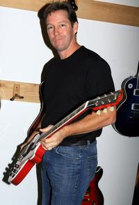 D.B. Sweeney at the Equity and Gibson Guitars AMA Private Reception.
