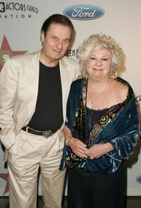 Renee Taylor and Joe Bologna at the Award Of Excellence Star presentation for the Screen Actors Guild.