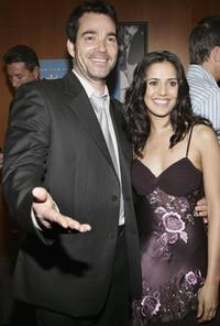 Jon Tenney and Shaheen Sheik at the premiere of