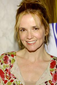 Lea Thompson at the 2002 Lullabies and Luxuries Fashion Event.