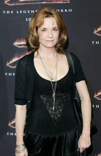 Lea Thompson at the Los Angeles premiere of