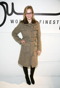 Ambyr Childers at the opening of the Supima Pop Up Store.