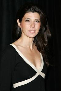 Marisa Tomei at the opening night of ''The Year Of Magical Thinking.