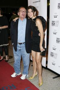 Marisa Tomei and Sidney Lumet at the premiere of