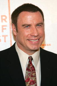 John Travolta at the N.Y. premiere of