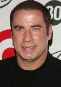 John Travolta at Tony Bennett's 80th birthday celebration hosted by Target in N.Y.